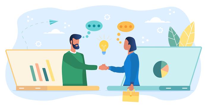 ビジネスチャットツールのメリットや主な機能