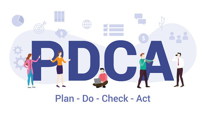 PDCAサイクルでテレワークの評価を継続する